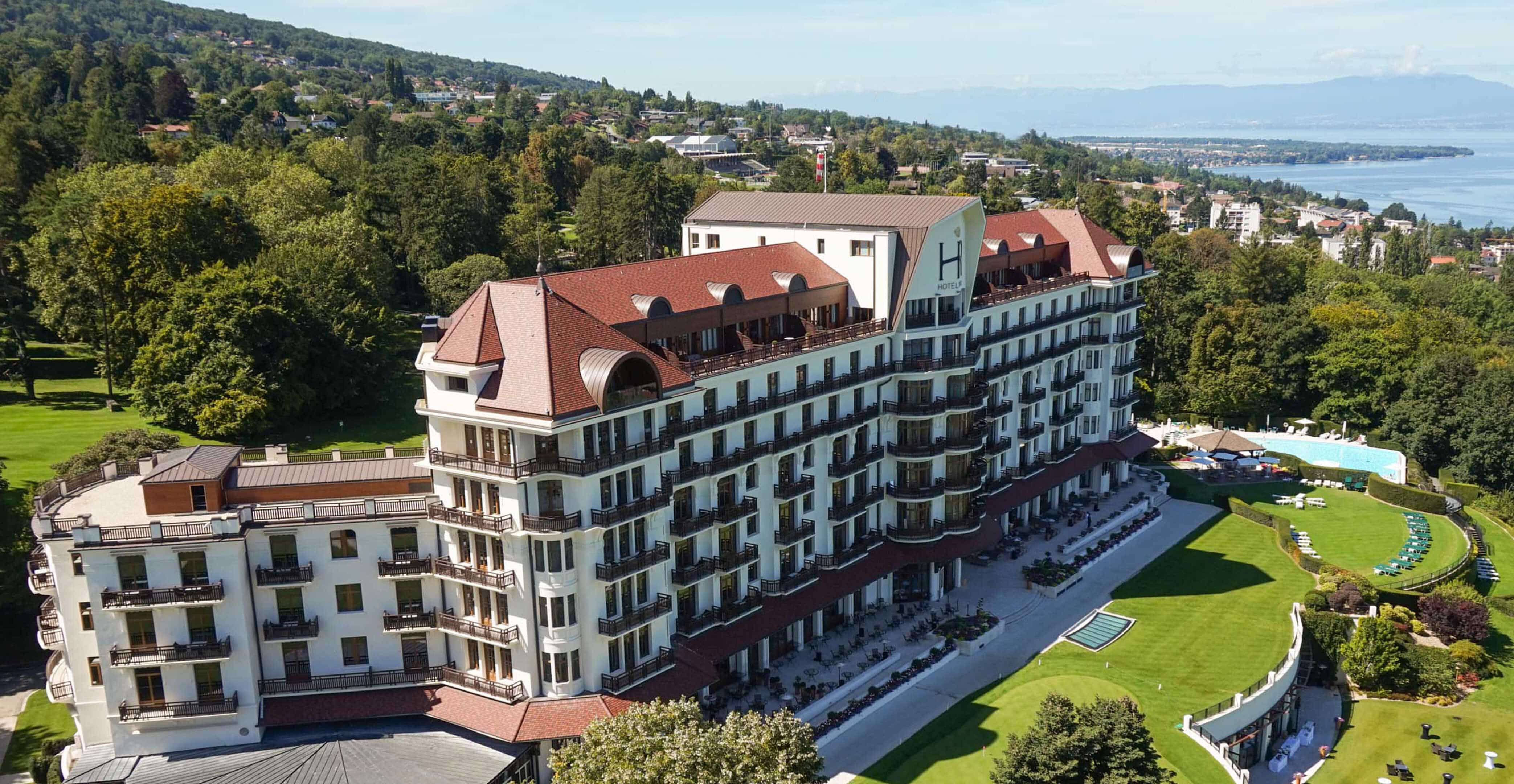 lausanne evian - 5 étoiles Hotel Royal & spaEvian
