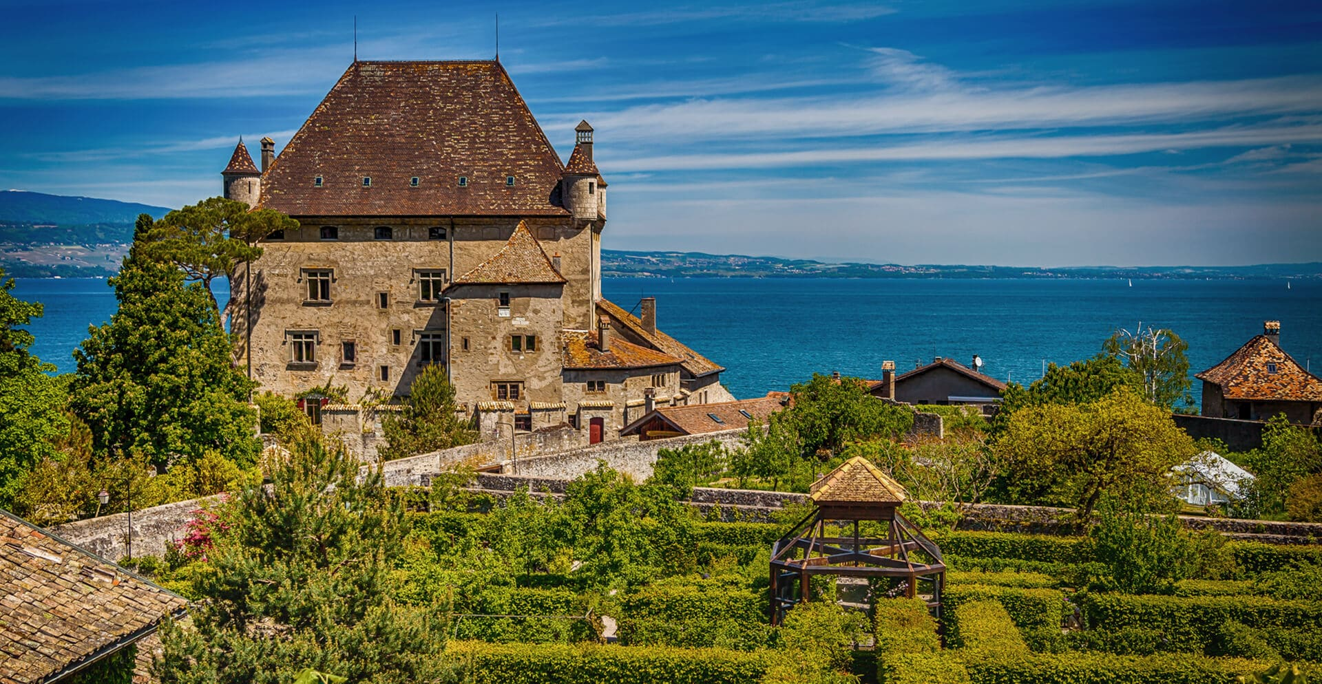 CHATEAU D'YVOIRE  I  YVOIRE  I  FRANCE
