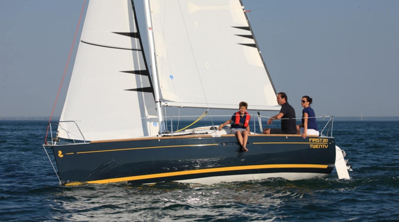 sailing on lake geneva